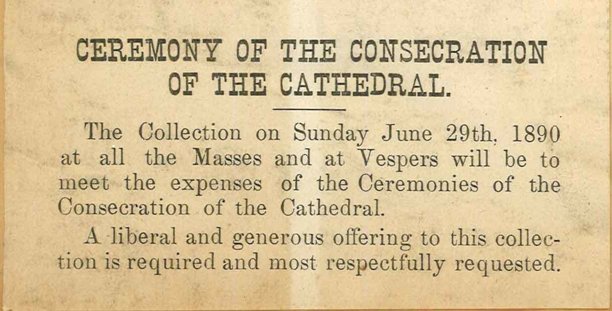 Cathedral Consecration Collection