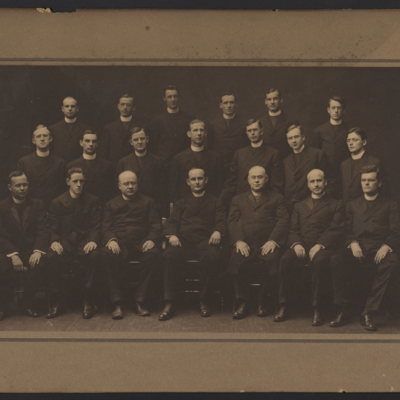 Group of 20 unidentified priests