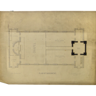 Plan of basement