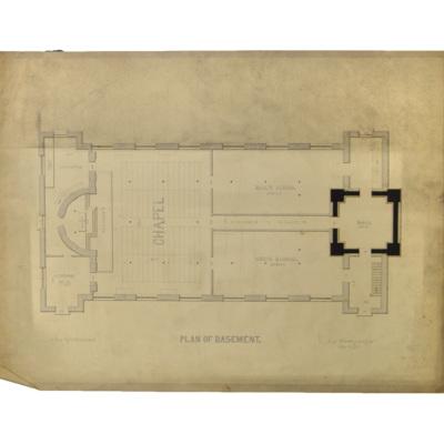 Plan of basement