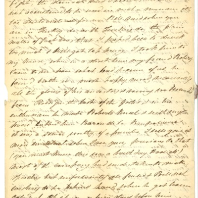 Letter to Jacques Andre Rodrigue from Aristide Rodrigue, 10/10/1833