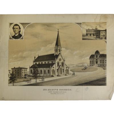 St. Mary's Church. Long Island City, New.Y. Pastor, Rev. John Crimmin