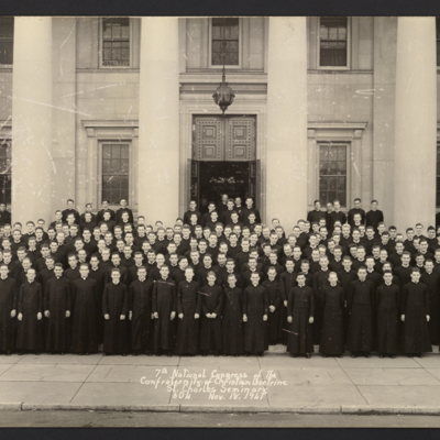 7th National Congress of the Confraternity of Christian Doctrine. St. Charles Seminary. Nov. 18, 1941