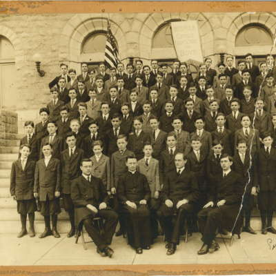 West Catholic Students 1917.jpg