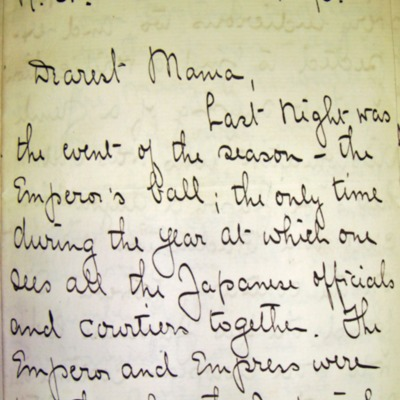 Letter from William Franklin Sands to Mary Elizabeth Sands, 11/04/1896