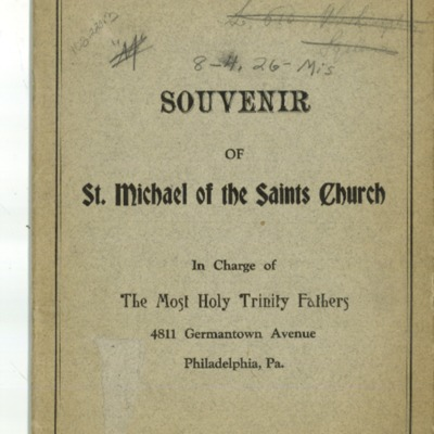 St. Michael of the Saints, 1926.pdf