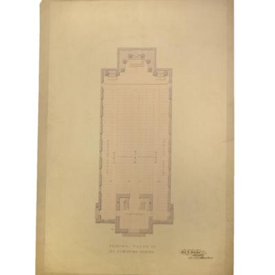 Principal floor of St. Augustine Church