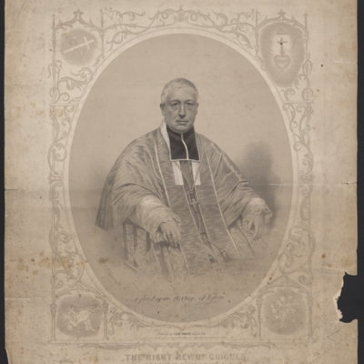 The Right Rev. Dr. Guigues. R. C. Bishop of Bytown, C.W. 1857