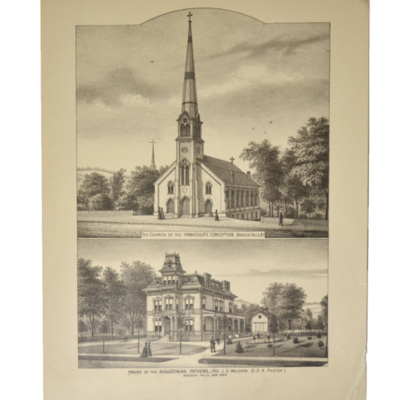 Church of the Immaculate Conception and House of the Augustinian Fathers, Hoosick Falls, New York