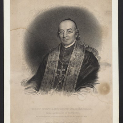 Most Revd. Ambrose Mareschal, third Archbishop of Baltimore