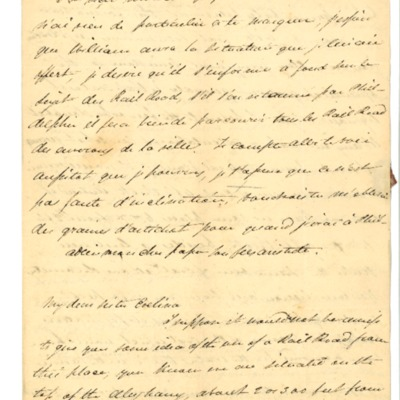 Letter to Jacques Andre Rodrigue from Aristide Rodrigue, 02/19/1833