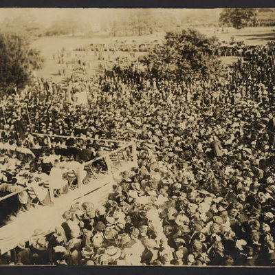 Large group at unidentified ceremony or event