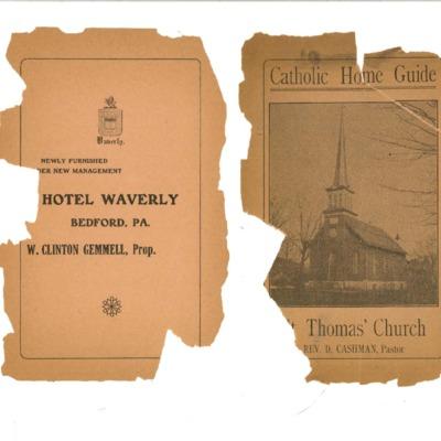 Catholic home guide : St. Thomas' Church