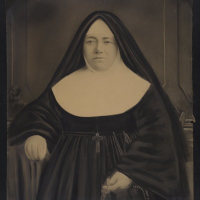 Unidentified nun.