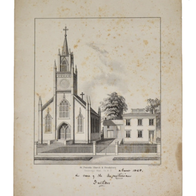 St. Patrick's Church and Presbytery, Cambridge, Wash. Co., N.Y.