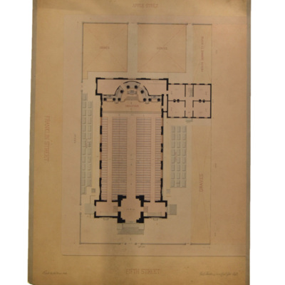 Ground plan of St. Peter the Apostle Church