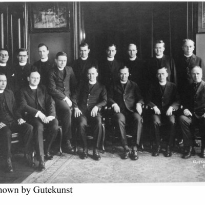 Group of unidentified priests