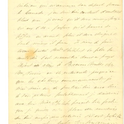 Letter to Jacques Andre Rodrigue from Aristide Rodrigue. 06/07/1834