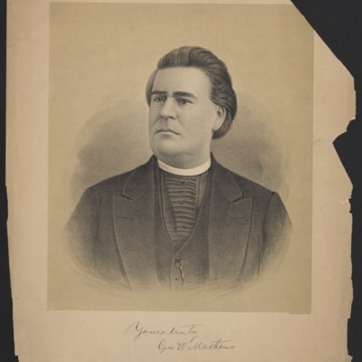 Reverend George W. Mathews