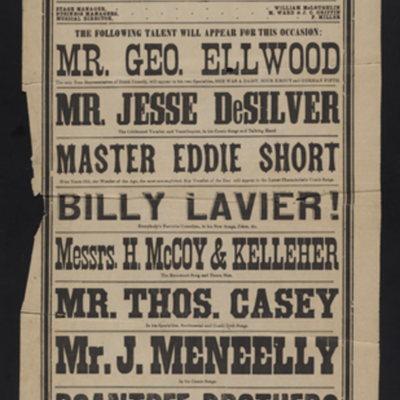 Grand Concert : Thursday evening, March 28, 1878, by Joseph Adams.