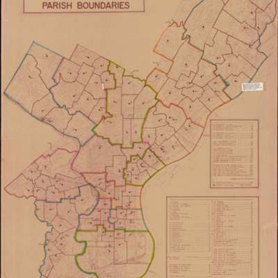 Philadelphia Catholic Parish Boundaries
