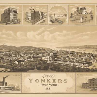 City of Yonkers, New York, 1881