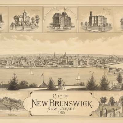 City of New Brunswick, New Jersey. 1880