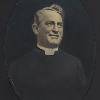 Unidentified priest