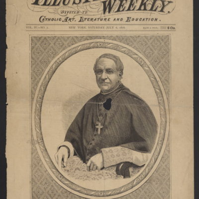 Most Rev. James Frederick Wood, D.D., Archbishop of Philadelphia.