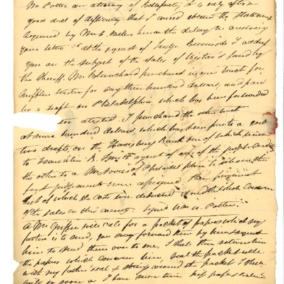 Letter to Jacques Andre Rodrigue from Aristide Rodrigue, 03/18/1833
