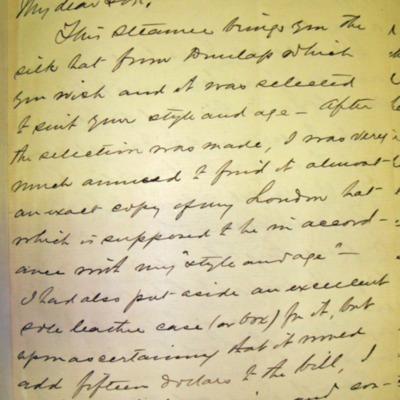 Letter from Adm. James Hoban Sands to William Franklin Sands, 09/23/1896