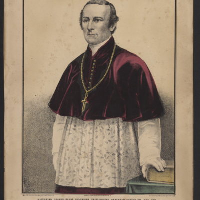 The Most Rev. John Hughes, D.D. First Archbishop of New York