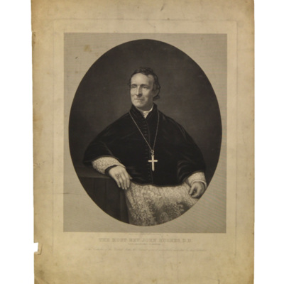 The Most Rev. John Huges, D.D. First Archbishop of New York