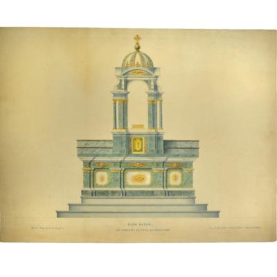 High altar. St. Vincent de Paul, Germantown