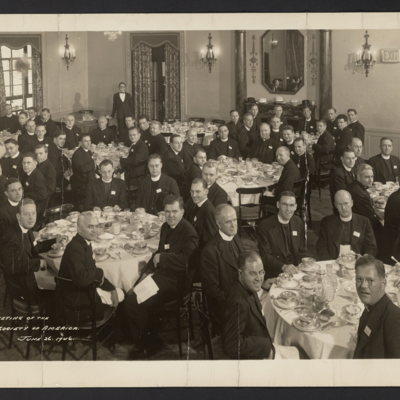 Foundation Meeting of the Catholic Theological Society of America. Hotel Commodore. June 26, 1946
