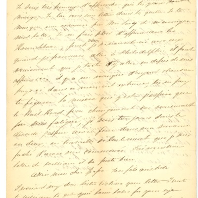 Letter to Jacques Andre Rodrigue from Aristide Rodrigue, 09/28/1833