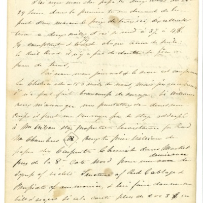 Letter to Jacques Andre Rodrigue from Aristide Rodrigue, 07/09/1832