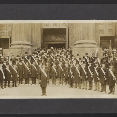 Knights of Columbus Convention. Philadelphia, Pa. May 11th 1915