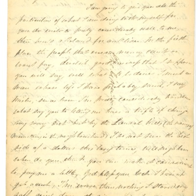 Letter to Evelina Rodrigue from Aristide Rodrigue, 06/23/1833