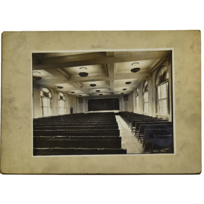 St. Francis de Sales auditorium after alterations
