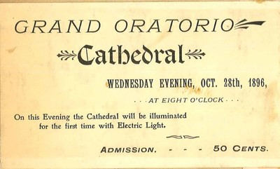 Grand Oratorio Ticket