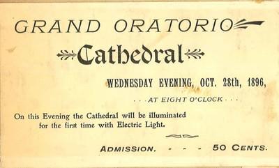 Grand Oratorio Ticket